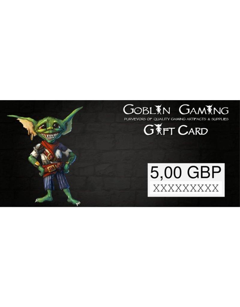 Goblin Gaming £5 Gift Card