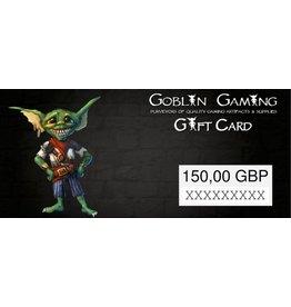 Goblin Gaming £150 Gift Card
