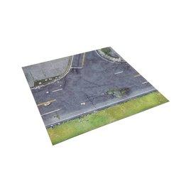 Mantic Games All Out War - Atlanta Suburbs Deluxe Mat