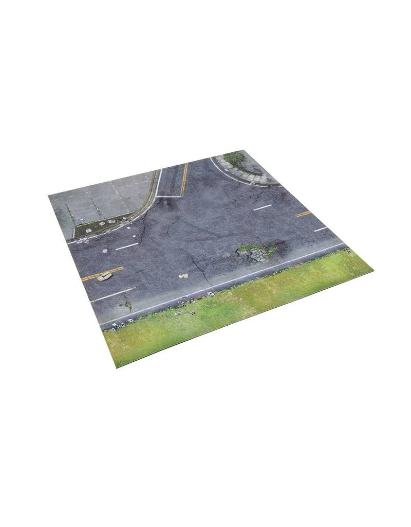 Mantic Games The Walking Dead: All Out War Atlanta Suburbs Deluxe Mat