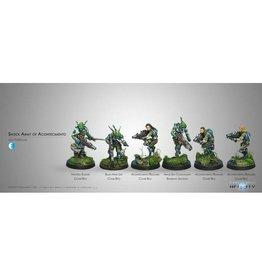 Corvus Belli Shock Army of Acontecimento Sectorial Starter Pack (classic)