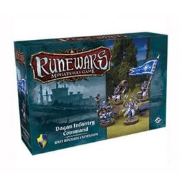 Fantasy Flight Games Daqan Infantry Command Expansion Pack: Runewars Miniatures Game