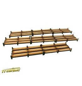 TT COMBAT Wooden Walkways