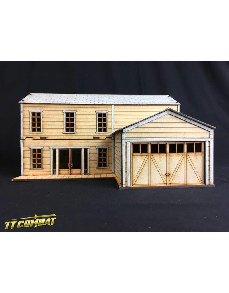 TT COMBAT Two Storey Suburban House A
