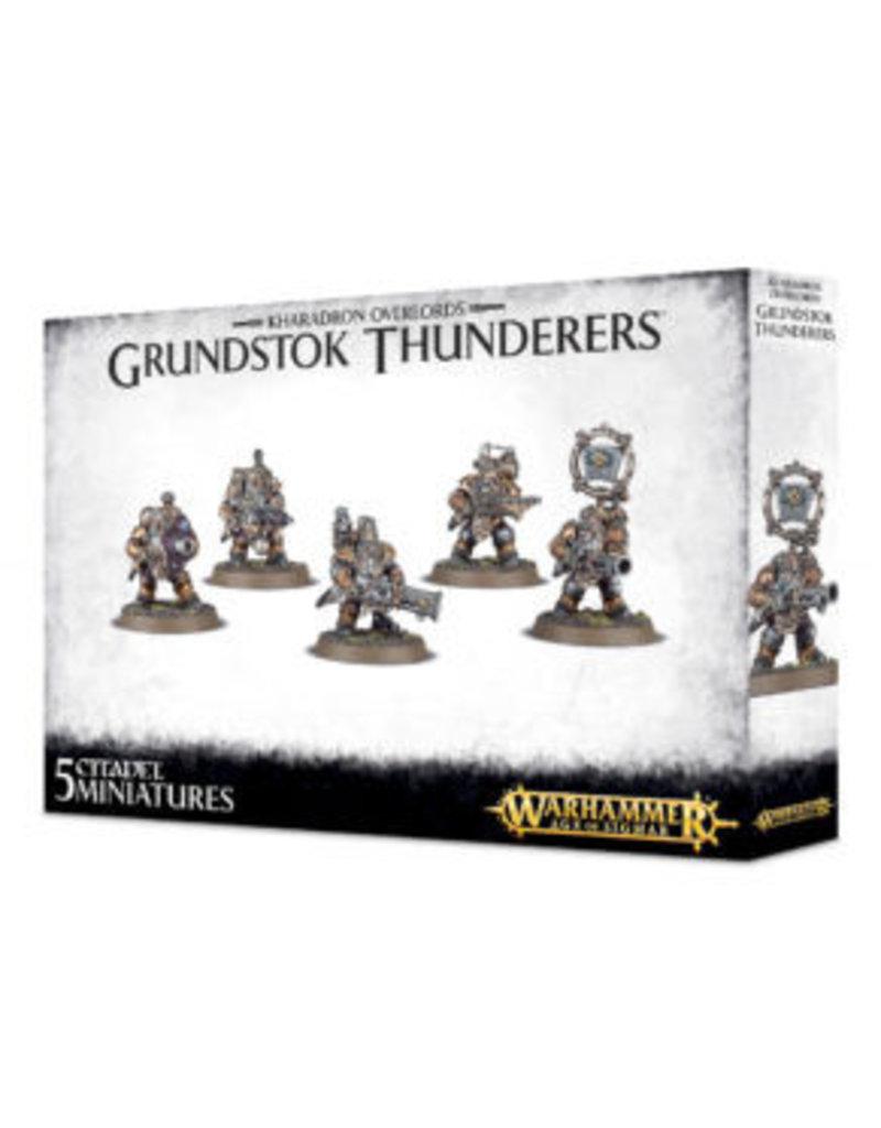 Games Workshop Kharadron Overlords Grundstok Thunderers