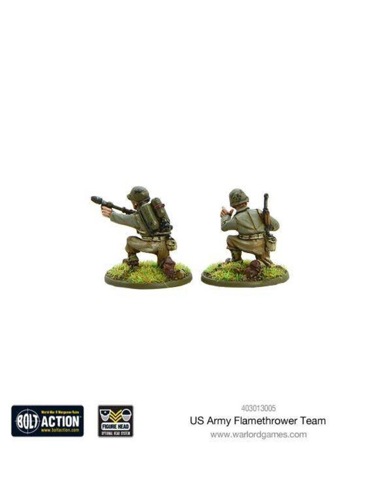 Warlord Games US Army flamethrower team
