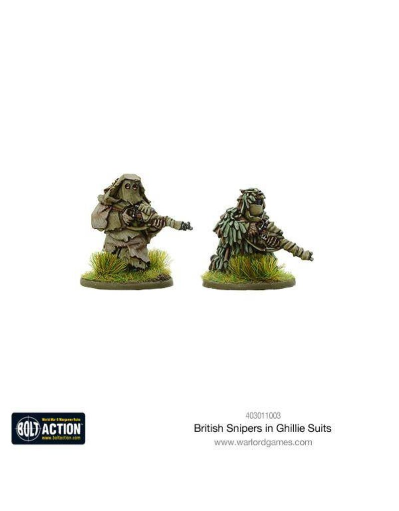 Warlord Games British Snipers in Ghillie suits