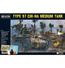 Warlord Games Chi-Ha Japanese tank