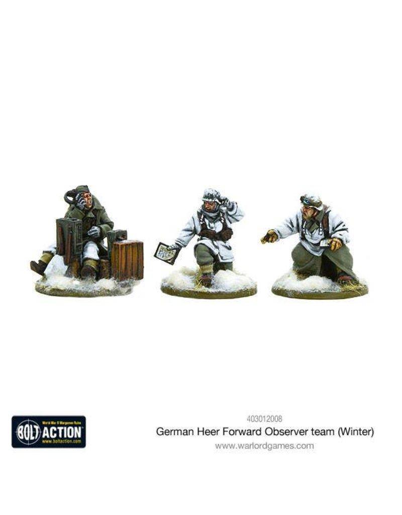 Warlord Games German Heer Forward Observer team (Winter)