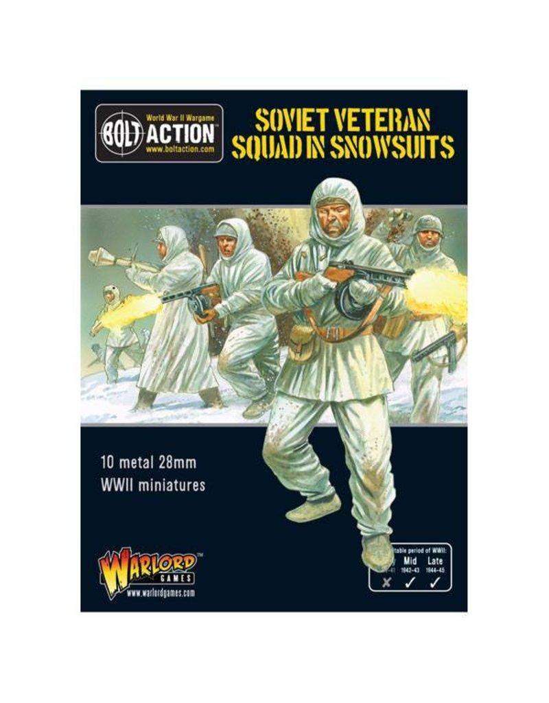 Warlord Games Soviet Veteran Squad in Snowsuits