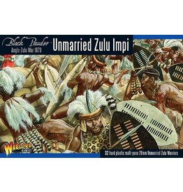 Warlord Games Unmarried Zulu Impi