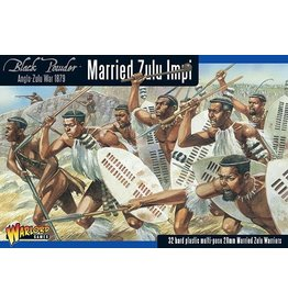 Warlord Games Married Zulu Impi