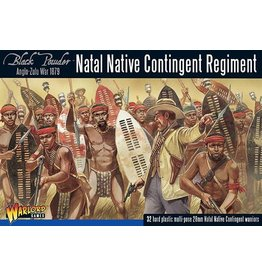Warlord Games Natal Native Contingent Regiment