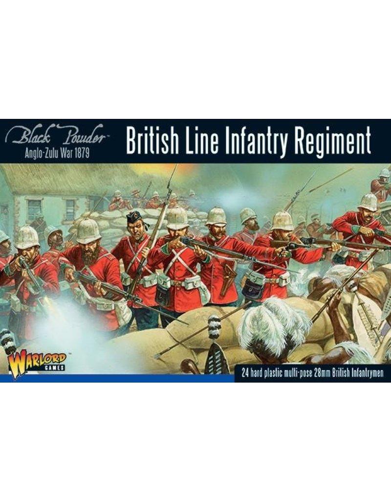 Warlord Games Anglo-Zulu war 1879 British Line Infantry Regiment Box Set