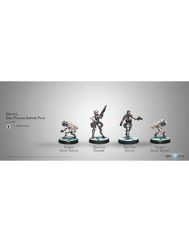 Corvus Belli Aleph Dactyls, Steel Phalanx Support Pack Box Set