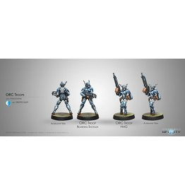 Corvus Belli Orc Troops (HMG/Boarding Shotgun)