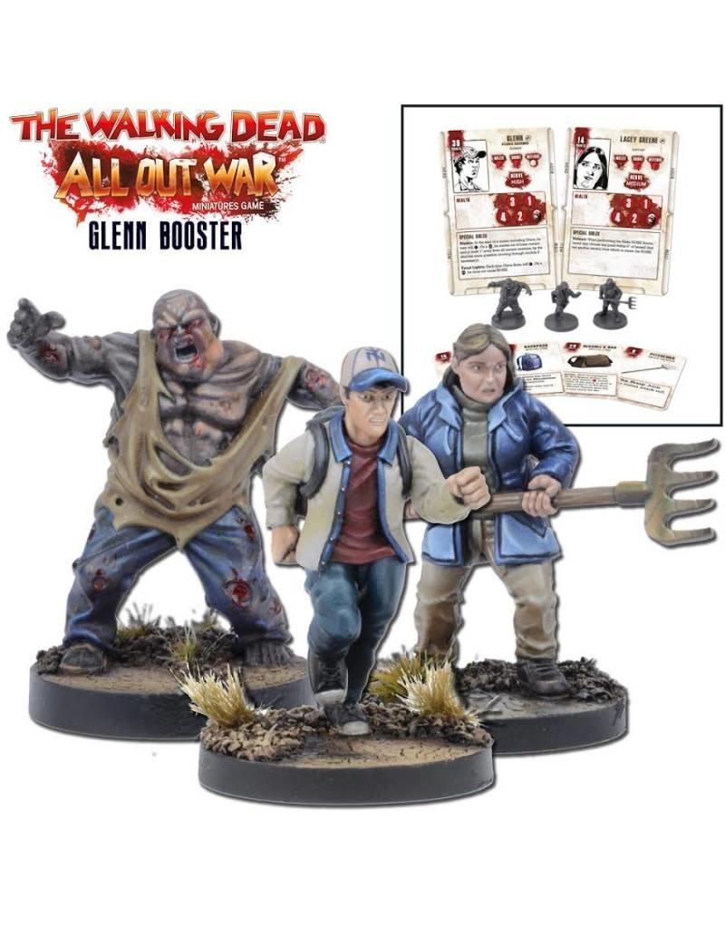 The Walking Dead Miniatures 30mm Scale Unpainted Miniatures Armed Street Gang 10