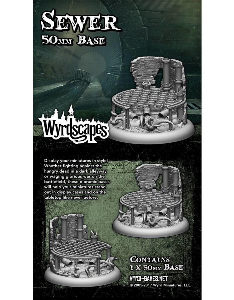 Wyrd Sewer 50MM Bases