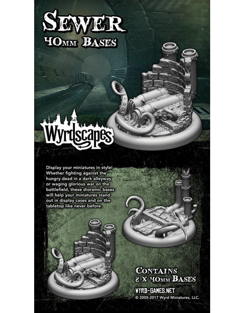 Wyrd Sewer 40MM Bases