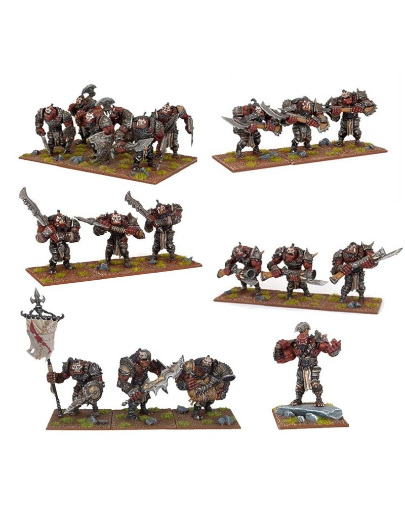 Mantic Games Ogres Starter Army Box Set