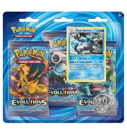 Pokemon Pokemon TCG: XY12 Evolutions Triple Pack Booster (Black Kyurem)