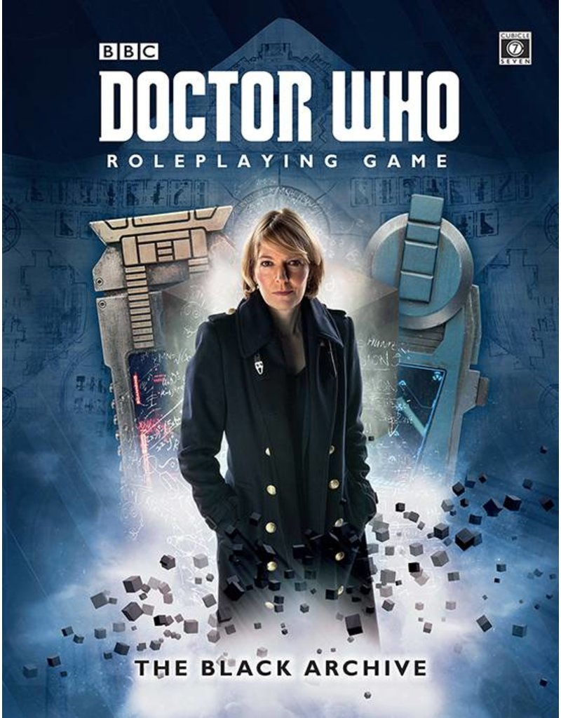 Cubicle 7 The Black Archive: Doctor Who RPG