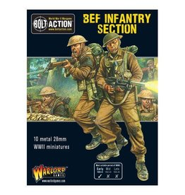 Warlord Games BEF Infantry Section