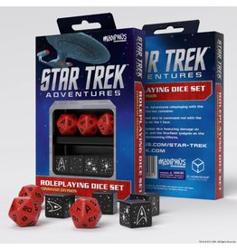 Modiphius Entertainment Star Trek Adventures Accessories: Command Red Custom Dice