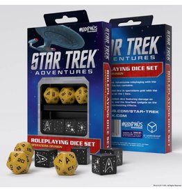 Modiphius Entertainment Star Trek Adventures Accessories: Operations Gold Custom Dice