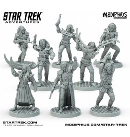Modiphius Entertainment Star Trek Adventures: Klingon Warband 32mm Miniatures