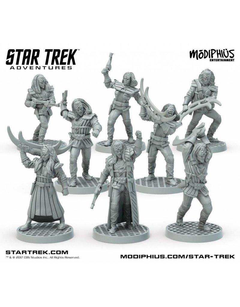 Modiphius Entertainment Star Trek Adventures: Klingon Warband 32mm Miniatures