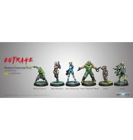 Corvus Belli Outrage Characters Pack