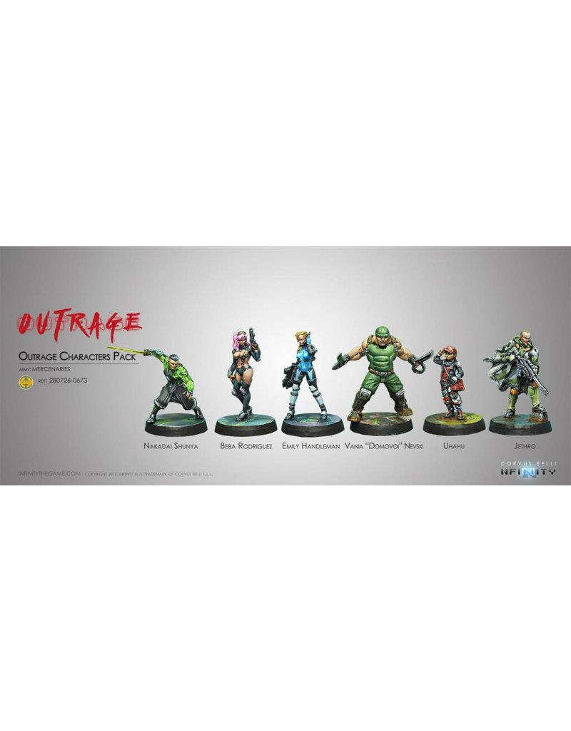 Corvus Belli Outrage Characters Pack Box Set