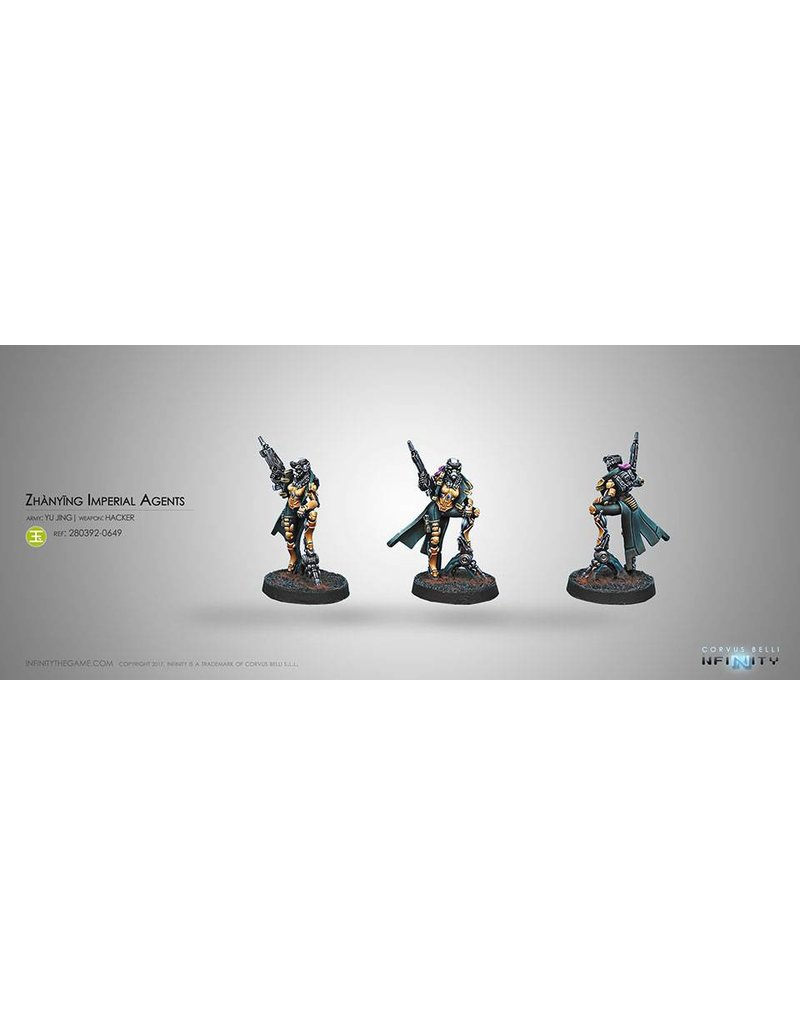 Corvus Belli Yu Jing Zhanying Imperial Agents (Hacker) Blister Pack