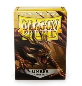 ARCANE TINMEN Dragon Shield Sleeves Matte Umber (100)