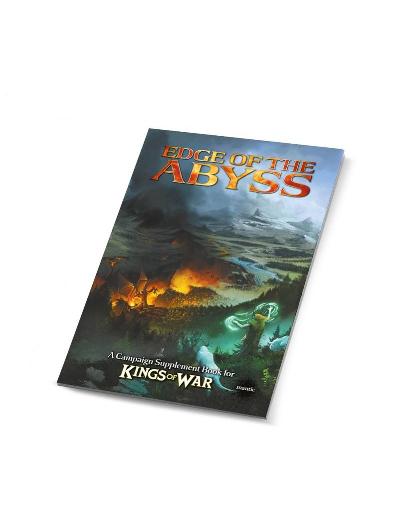 Mantic Games Edge of the Abyss - Summer Campaign 2017 Book