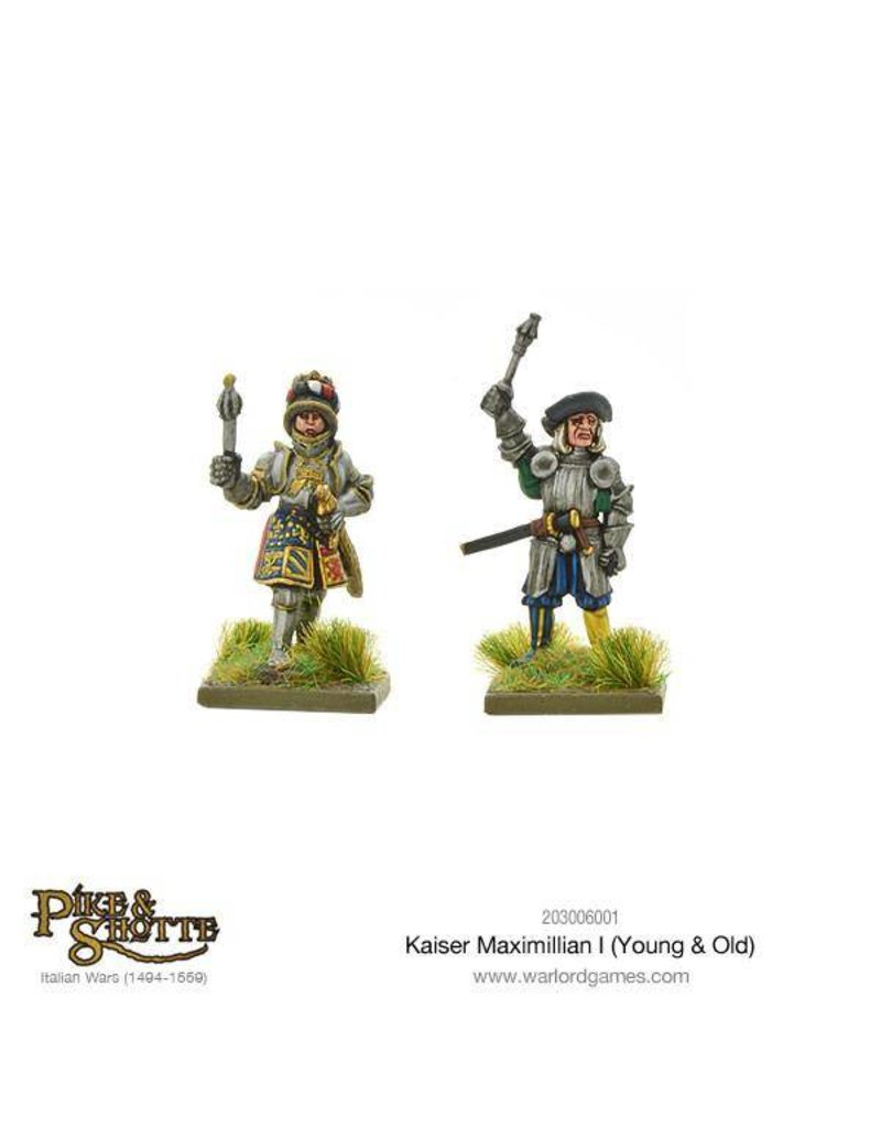 Warlord Games Italian Wars 1494-1559 Kaiser Maximilian I (Young & Old) Pack