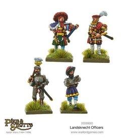 Warlord Games Landsknechts Officers