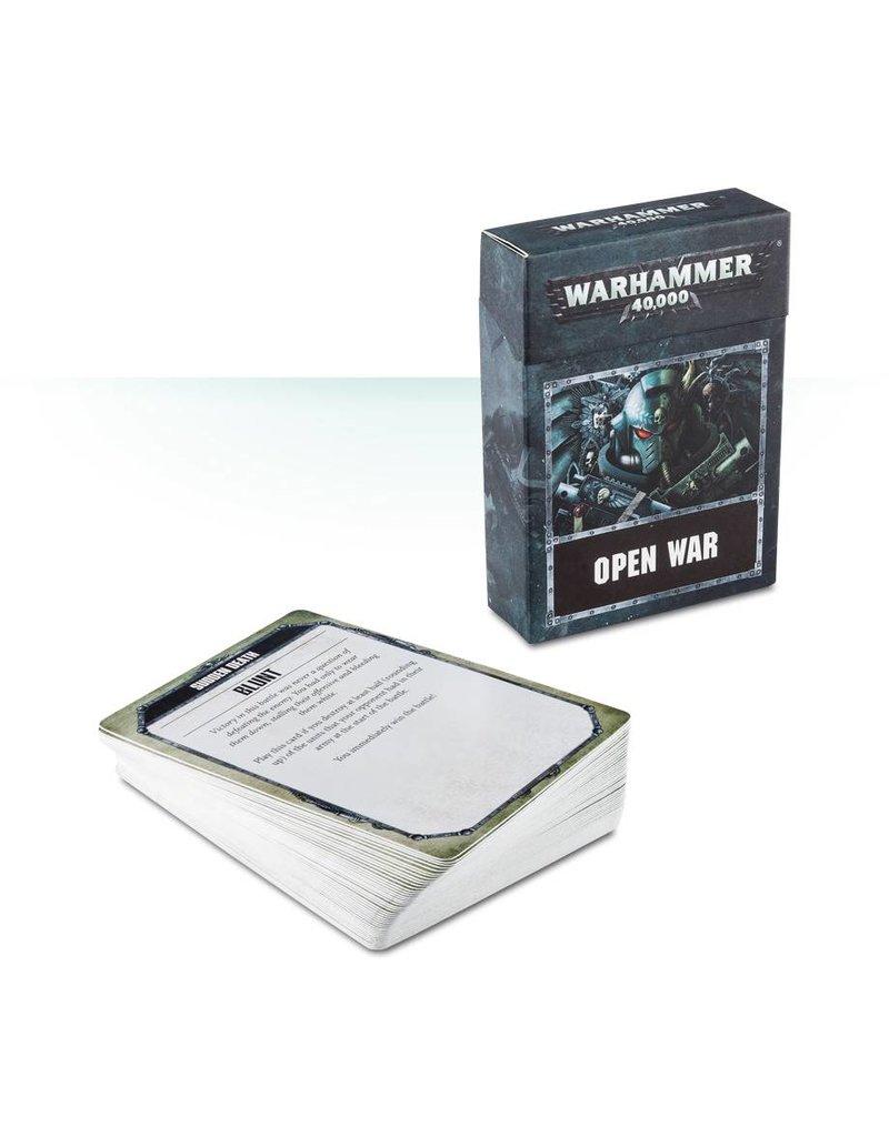 Games Workshop Warhammer 40000: Open War Cards (ENG)