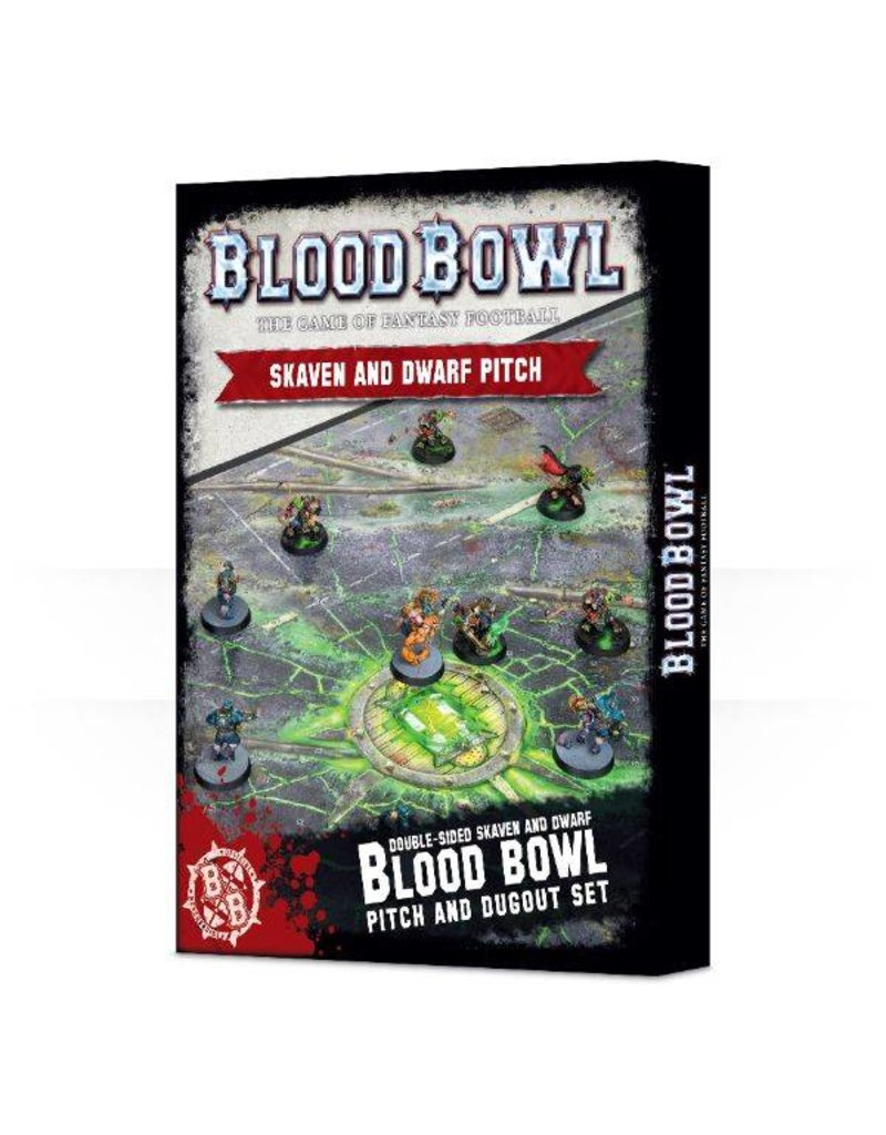 Games Workshop Bloodbowl: Skaven/Dwarf Pitch