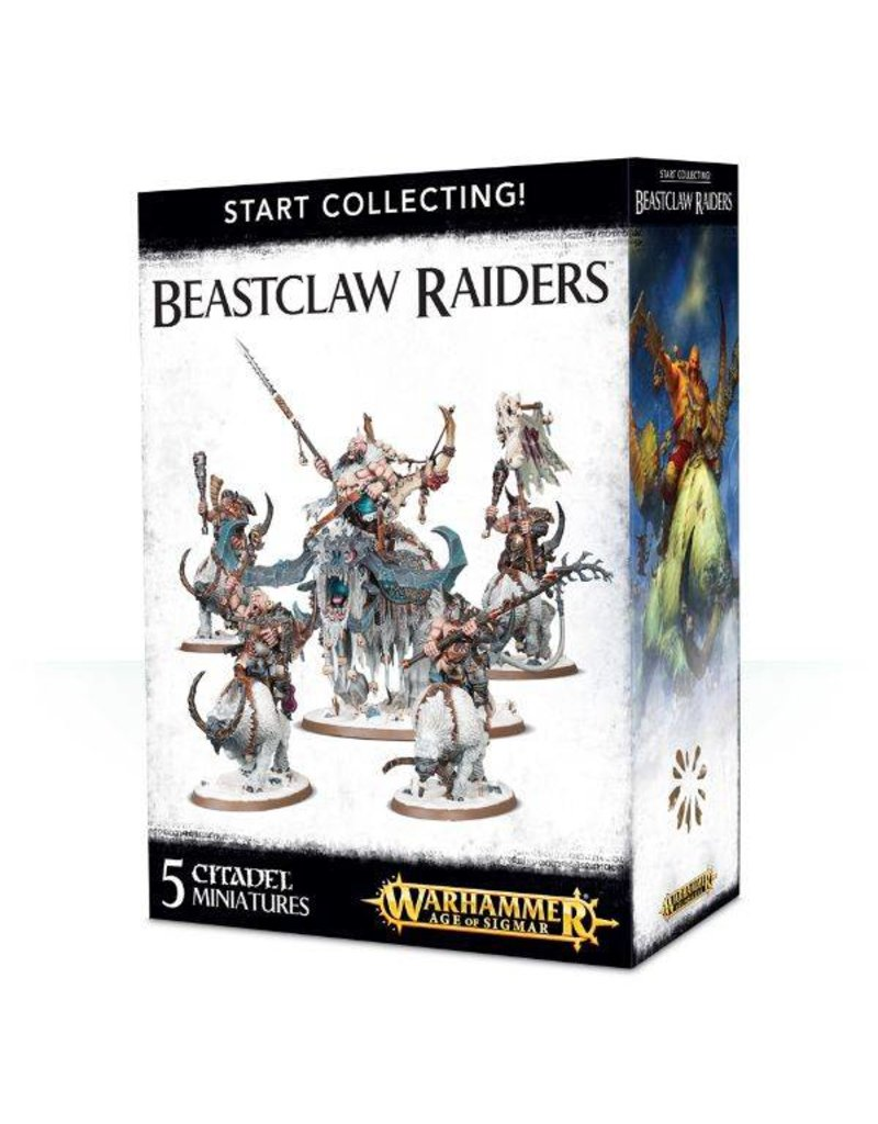 Games Workshop Start Collecting! Beastclaw Raiders