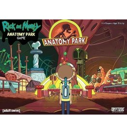 Cryptozoic Entertainment Rick and Morty Anatomy Park