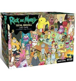 Cryptozoic Entertainment Total Rickall Rick and Morty Cooperative Card Game