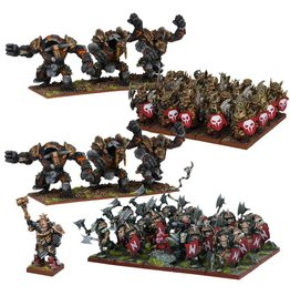 Mantic Games Abyssal Dwarf Starter Army (Re-pack)