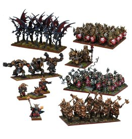 Mantic Games Abyssal Dwarf Mega Army (Re-pack)