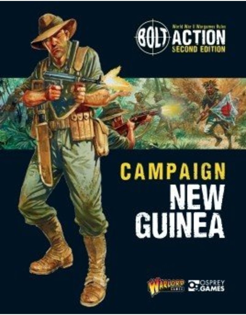 Warlord Games Campaign New Guinea Rulebook