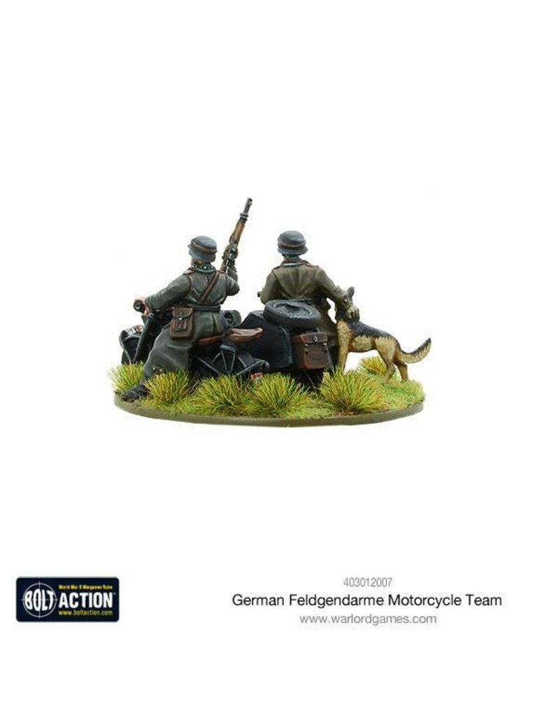 Warlord Games German Feldgendarme Motorcycle Team