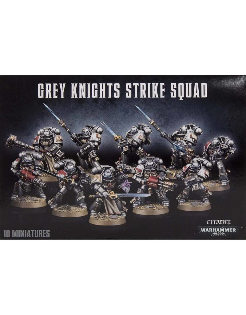 Games Workshop Grey Knights Strike Squad