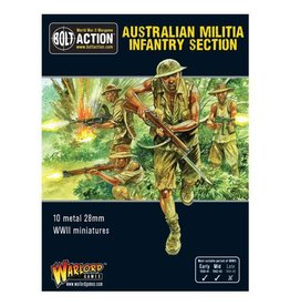 Warlord Games Australian Militia Infantry Section