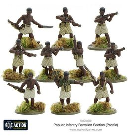 Warlord Games Papuan Infantry Battalion Section